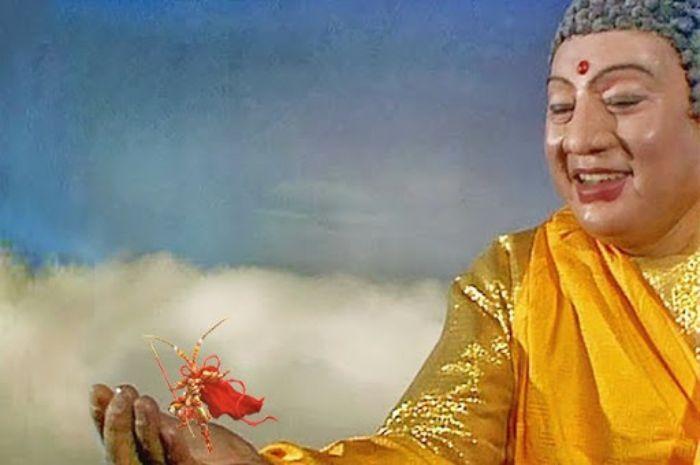 Nằm ngủ thấy Tôn hành giả bị Phật Tổ Như Lai răn dạy