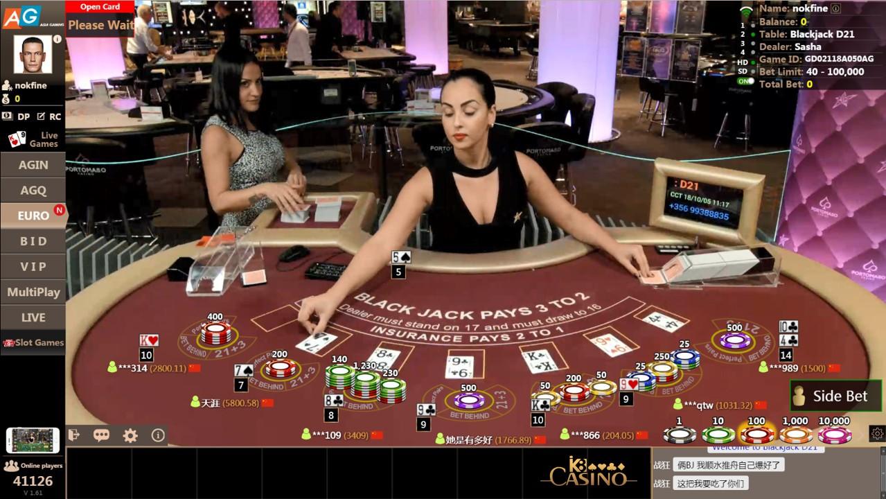 Chơi blackjack online ăn tiền tại nhà cái K8