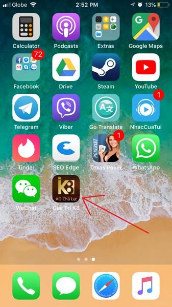 K8 casino mobile trên iphone