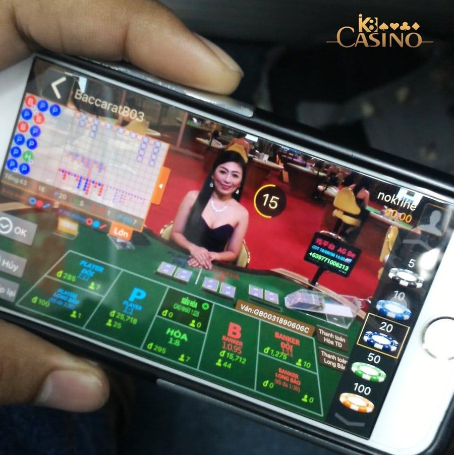 K8 Mobile Phiên Bản Cho iPhone