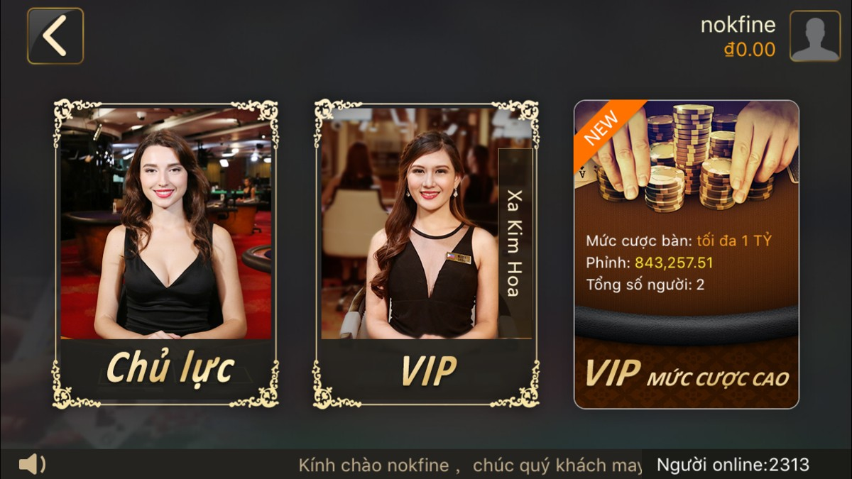 Sảnh casino AG mobile tại nhà cái K8