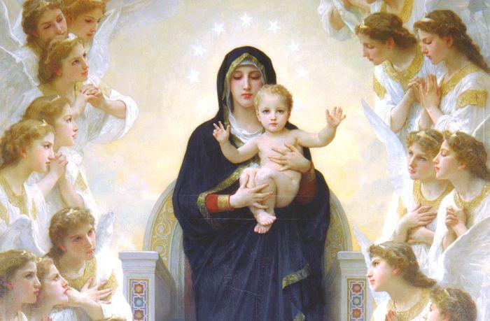Mơ thấy Đức Mẹ Maria đánh con gì để đổi đời?