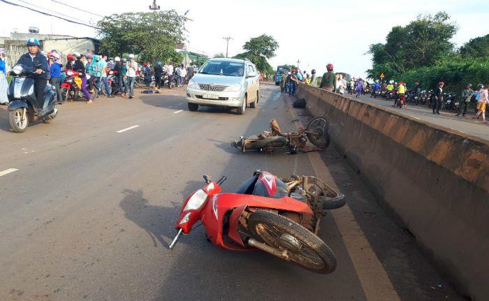 Mơ thấy người khác bị tai nạn xe máy tốt hay xấu? Đánh con gì?
