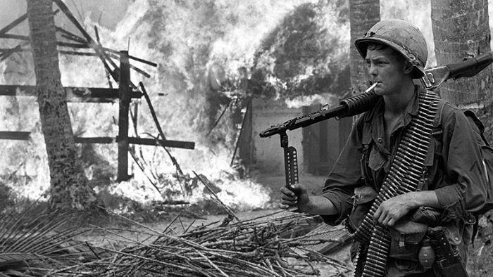 Chiêm bao thấy quân địch đốt nhà dân đánh các số 02 - 45