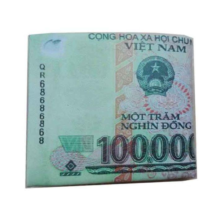 Mơ thấy tiền 100 nghìn gấp làm đôi