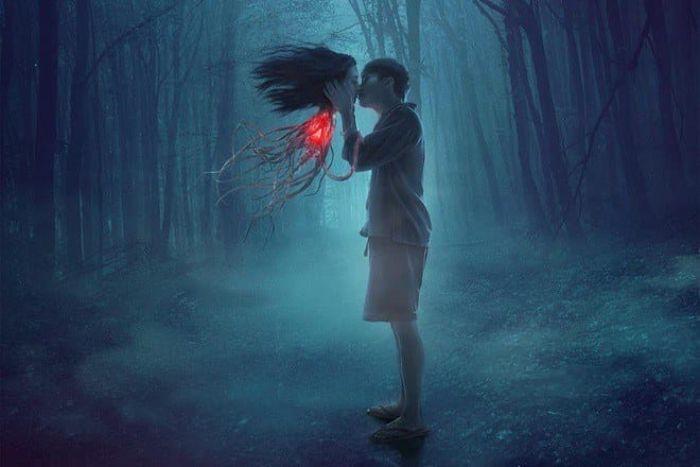Mơ thấy mình chạm vào hồn ma