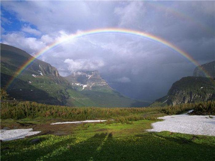 Chiêm bao cầu vồng sau mưa chứng tỏ cuộc hôn nhân của bạn đang trong thời kỳ hạnh phúc