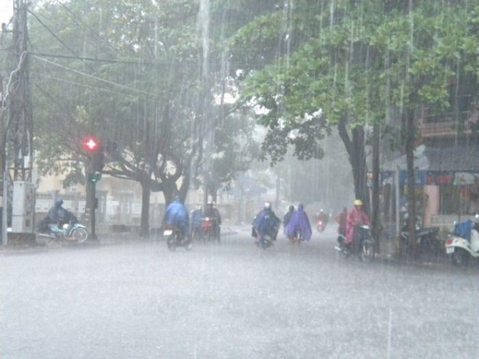 Trời mưa lớn và không tìm thấy nơi trú có lẽ là cảnh mà không ai muốn xảy ra với mình