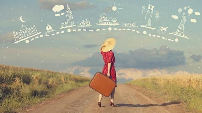 Nằm mơ thấy đi xuất ngoại du lịch chứng tỏ bạn là người giỏi giao tiếp nên được mọi người yêu quý