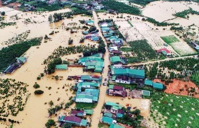 Ngập lụt khiến cây cối bị nhấn chìm thường xuyên xảy ra nếu có lũ lụt