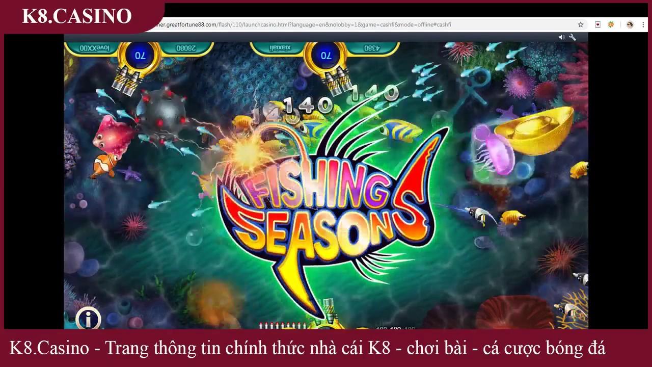 Game bắn cá online đổi thưởng K8