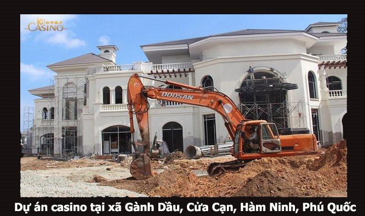Casino Phú Quốc đang xây dựng 2018
