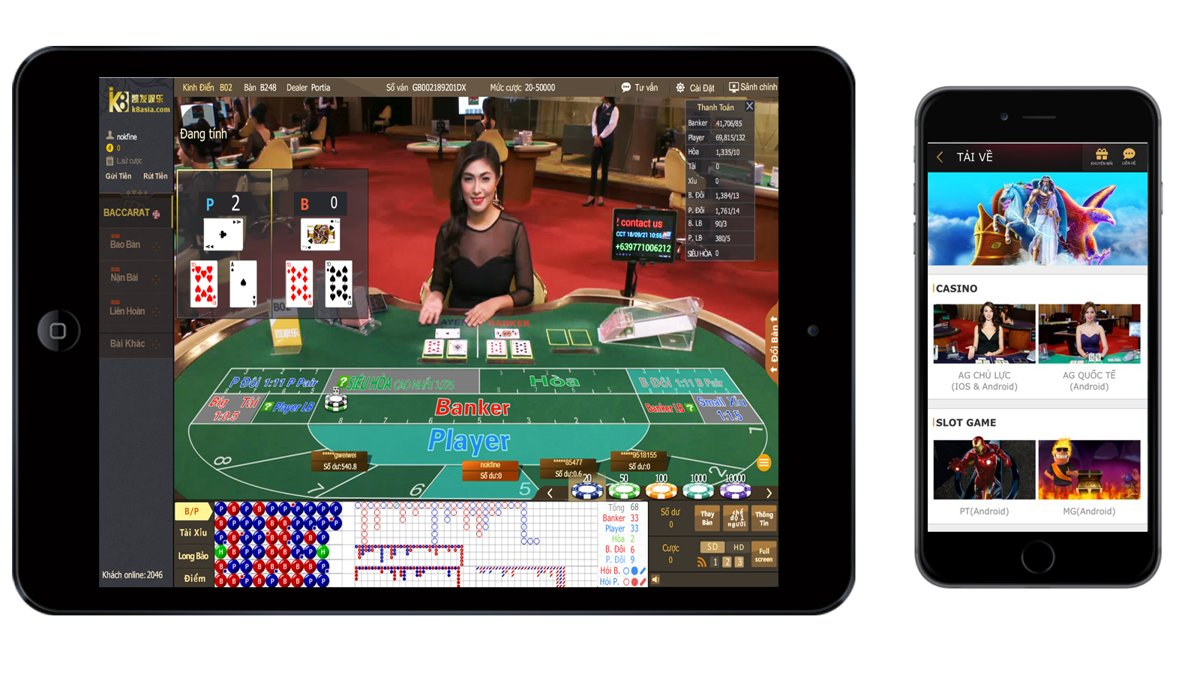 K8 Casino Mobile 2018