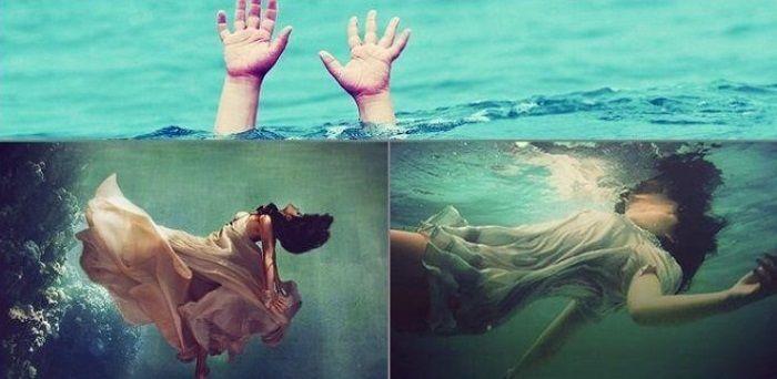 giấc mơ liên quan đến người chết, đặc biệt là chết đuối thường tồn tại nhiều điềm báo liên quan tới sức khỏe