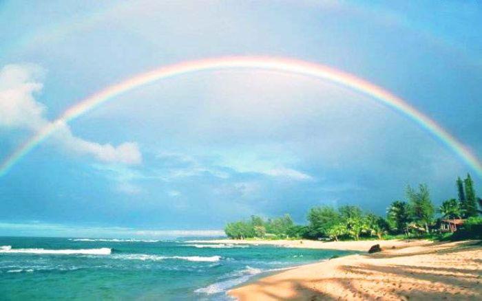 Cầu vồng chính là hiện tượng xuất hiện tự nhiên sau mưa có năng lên