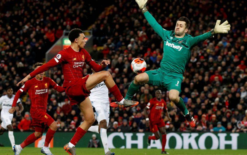 Soi kèo Liverpool vs West Ham lúc 0h30 ngày 1/11/2020