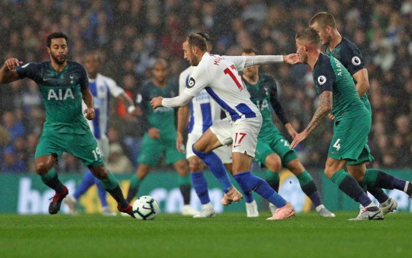 Soi kèo Tottenham vs Brighton lúc 2h15 ngày 2/11/2020