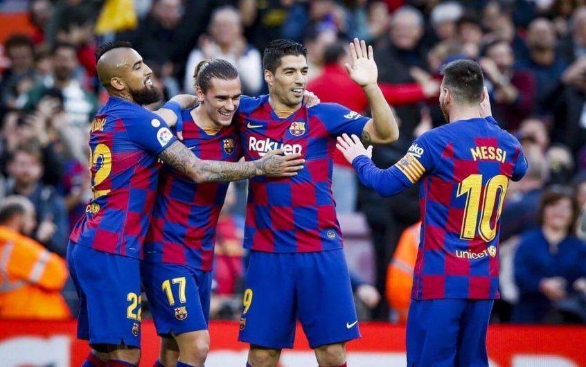 Soi kèo Atletico Madrid vs Barcelona lúc 03h00 ngày 22/11/2020