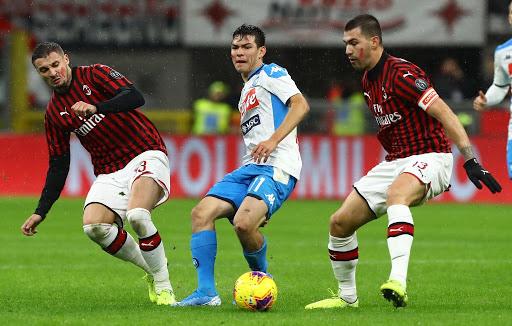 Soi kèo Napoli vs Milan lúc 02h45 ngày 23/11/2020