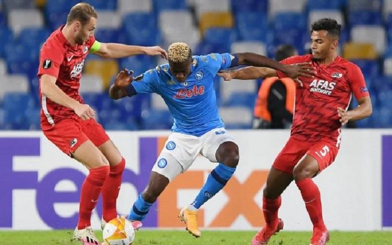 Soi kèo AZ vs Napoli lúc 03h00 ngày 4/12/2020