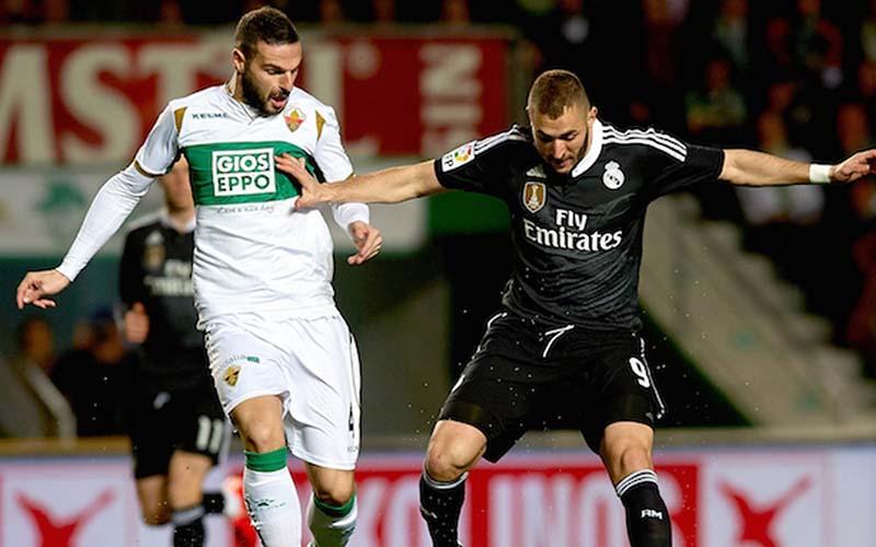 Soi kèo Elche vs Real Madrid lúc 3h30 ngày 31/12/2020