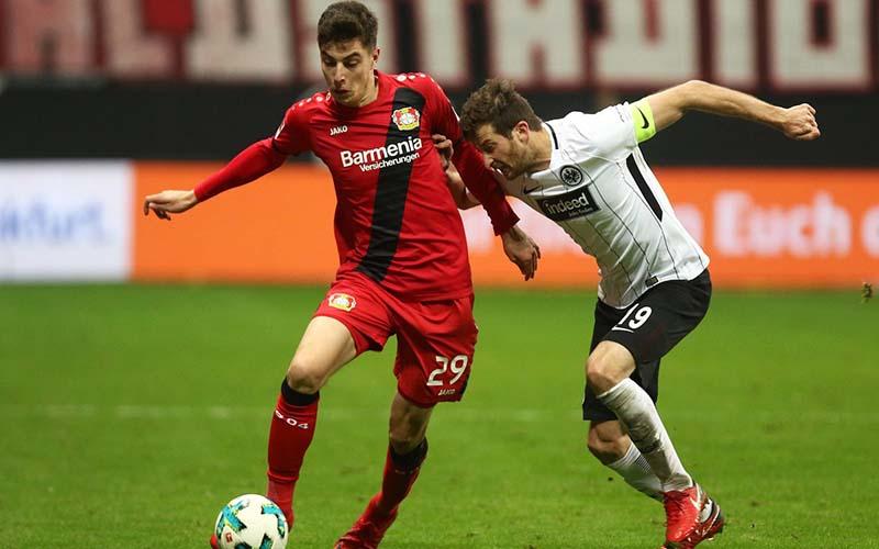Soi kèo Frankfurt vs Leverkusen lúc 21h30 ngày 2/1/2021