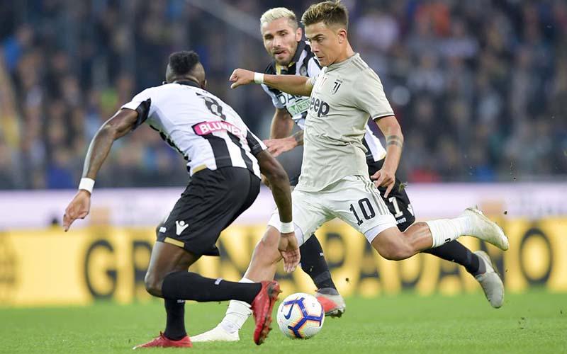 Soi kèo Juventus vs Udinese lúc 2h45 ngày 4/1/2021
