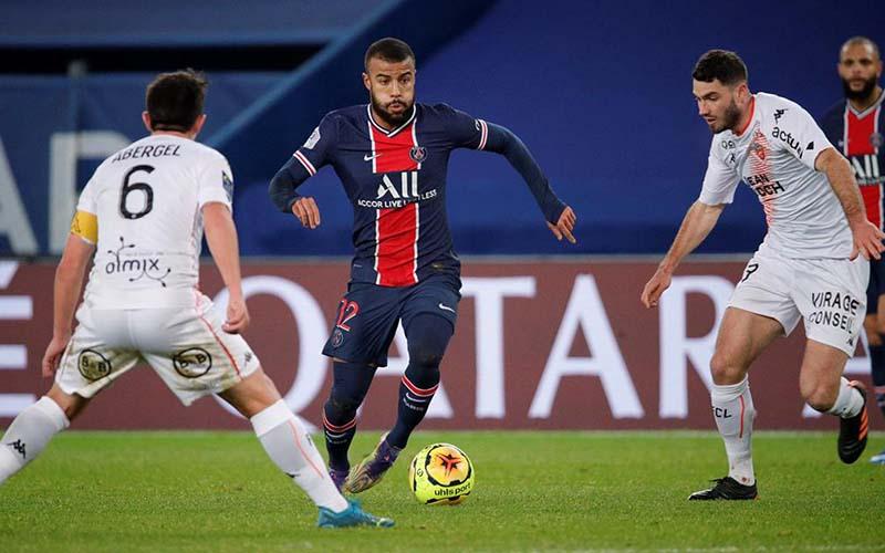 Soi kèo Lorient vs PSG lúc 21h00 ngày 31/1/2021