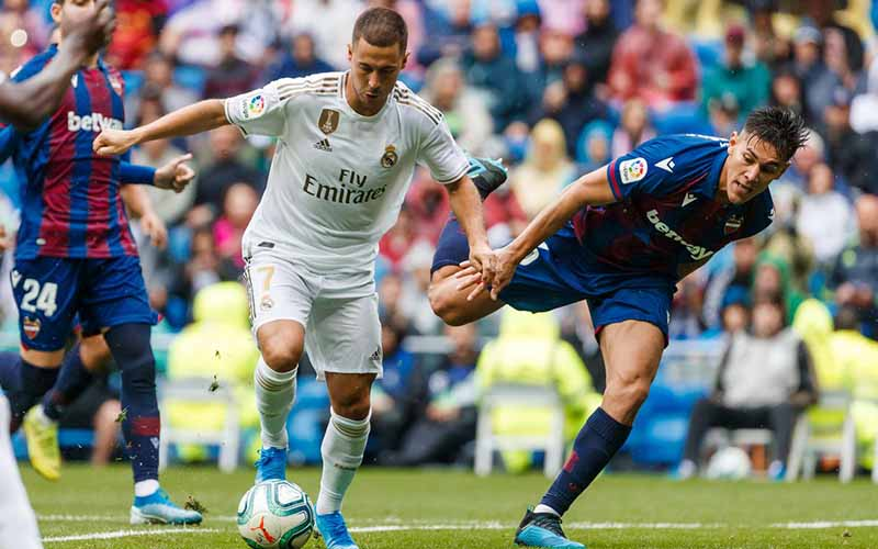 Soi kèo Real Madrid vs Levante lúc 22h15 ngày 30/1/2021
