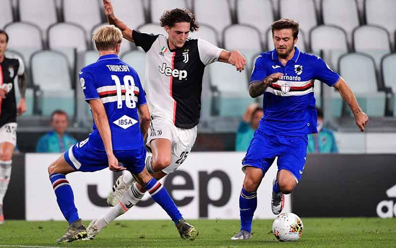 Soi kèo Sampdoria vs Juventus lúc 00h00 ngày 31/1/2021