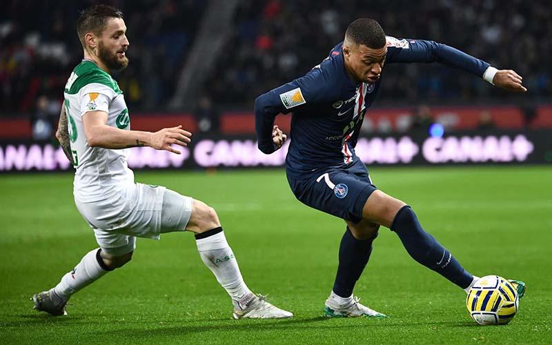 Soi kèo Saint Etienne vs PSG lúc 3h00 ngày 7/1/2021