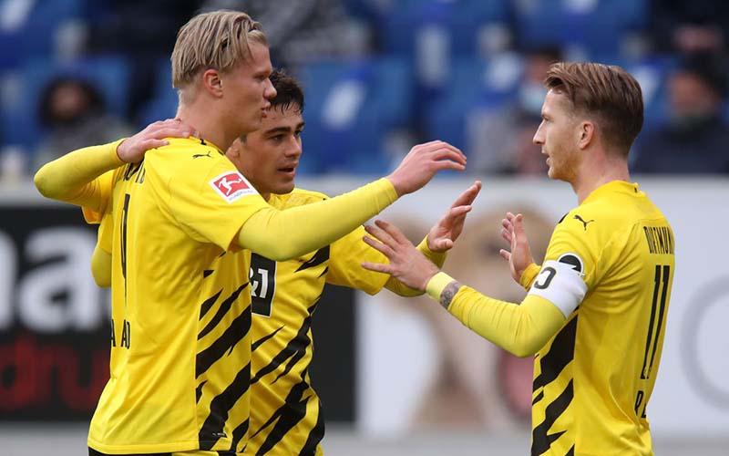 Soi kèo Dortmund vs Hoffenheim lúc 21h30 ngày 13/2/2021