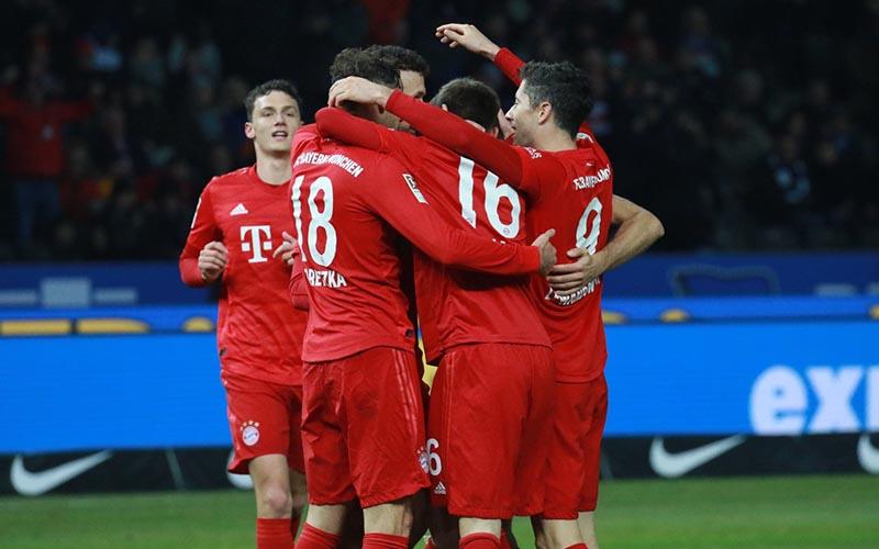 Soi kèo Hertha Berlin vs Bayern lúc 2h00 ngày 6/2/2021