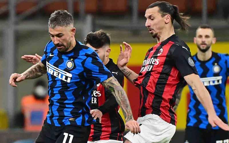 Soi kèo Milan vs Inter lúc 21h00 ngày 21/2/2021