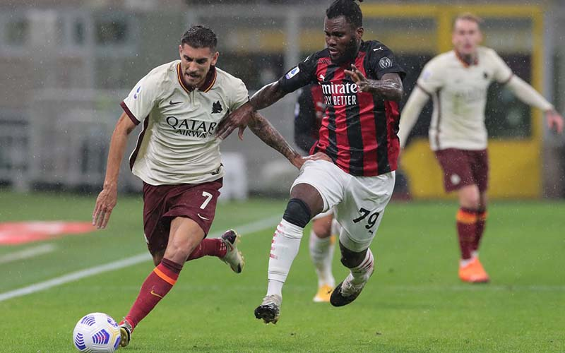 Soi kèo Roma vs Milan lúc 2h45 ngày 1/3/2021