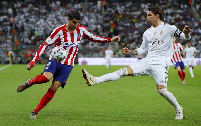 Soi kèo Atletico Madrid vs Real Madrid lúc 22h15 ngày 7/3/2021