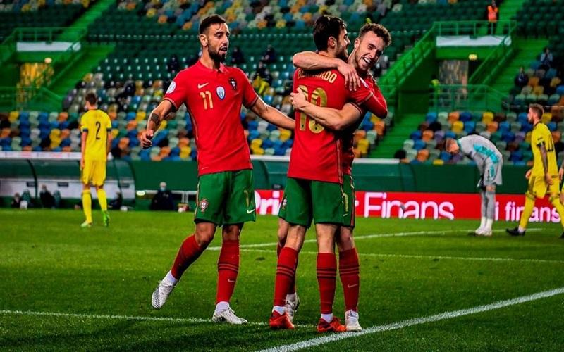 Soi kèo Bồ Đào Nha vs Azerbaijan lúc 02h45 ngày 25/3/2021