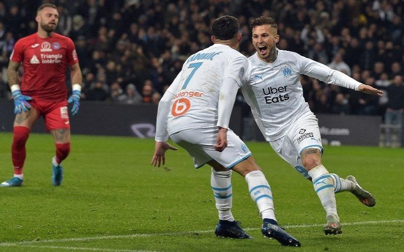 Soi kèo Marseille vs Brest lúc 22h59 ngày 13/3/2021
