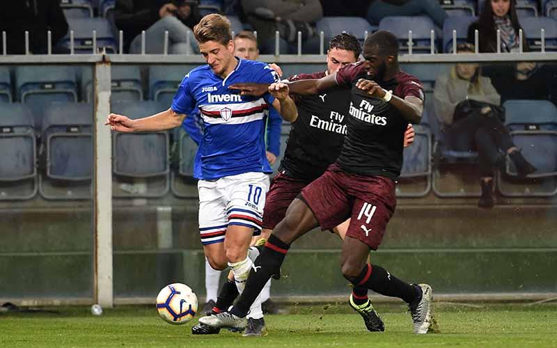 Soi kèo Milan vs Sampdoria lúc 17h30 ngày 3/4/2021