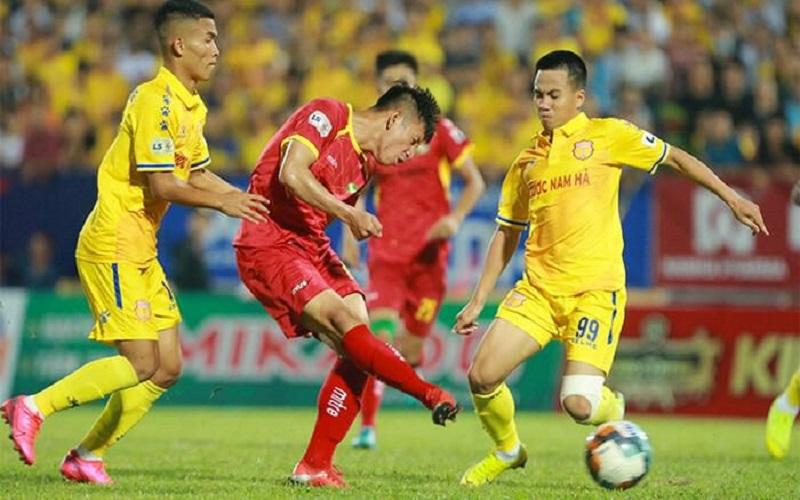 Soi kèo Nam Định vs SLNA lúc 18h00 ngày 4/4/2021