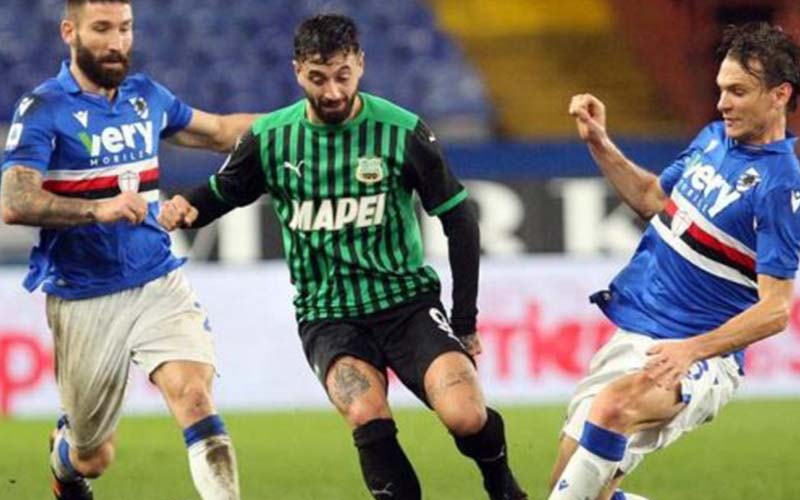 Soi kèo Sassuolo vs Sampdoria lúc 1h45 ngày 25/4/2021