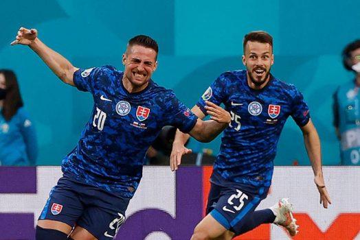 Soi kèo Thuỵ Điển vs Slovakia lúc 20h00 ngày 18/6/2021